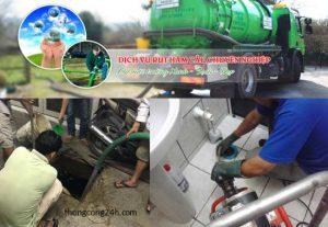 hút bể phốt tại huyện tiên lữ