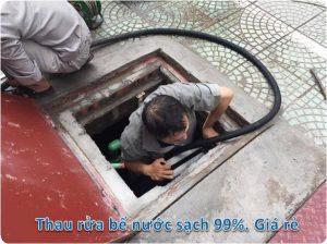 thau rửa bể nước ngầm tại đống đa
