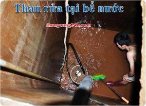 thau rửa bể nước ngầm tại chương mỹ