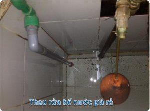 thau rửa bể nước ngầm tại hà đông