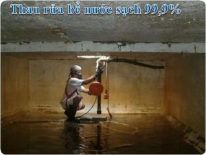 thau rửa bể nước ngầm tại hoàn kiếm