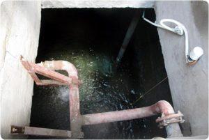 thau rửa bể nước ngầm tại huyện bạch long vĩ