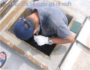 thau rửa bể nước ngầm tại huyện thủy nguyên