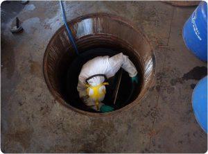 thau rửa bể nước ngầm tại huyện vĩnh bảo