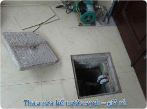thau rửa bể nước ngầm tại quận thanh xuân