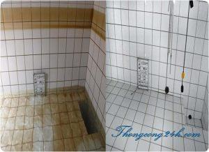 thau rửa bể nước ngầm tại sơn tây