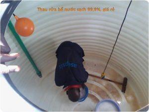 thau rửa bể nước ngầm tạu huyện kiến thụy
