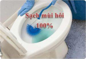 xử lý mùi hôi nhà vệ sinh tại đống đa