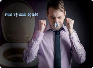 xử lý mùi hôi nhà vệ sinh tại cầu giấy