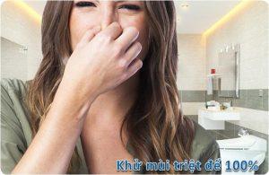 xử lý mùi hôi nhà vệ sinh tại hà đông