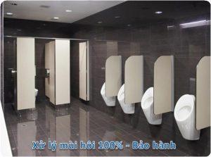 xử lý mùi hôi nhà vệ sinh tại hoài đức
