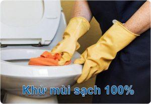 xử lý mùi hôi nhà vệ sinh tại hoàng mai