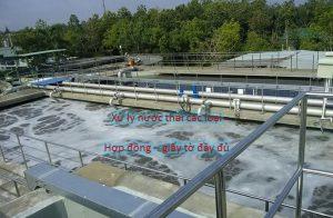 xử lý nước thải tại bến tre